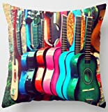 UniqueType Customized Guitarras Spanish Guitars Rainbow Style Zippered - Best Reviews Guide