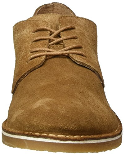 SELECTED Shhroyce New Light Shoe, Botines para Hombre Marrón (Burro)