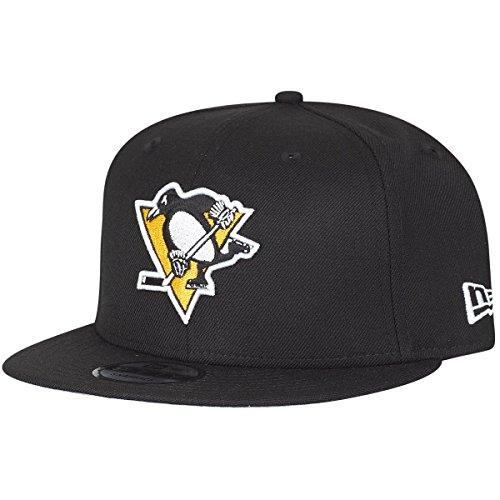New Era Pittsburgh Penguins Black Snapback Cap Kappe 9fifty 950 Basecap (New Mens Penguin)