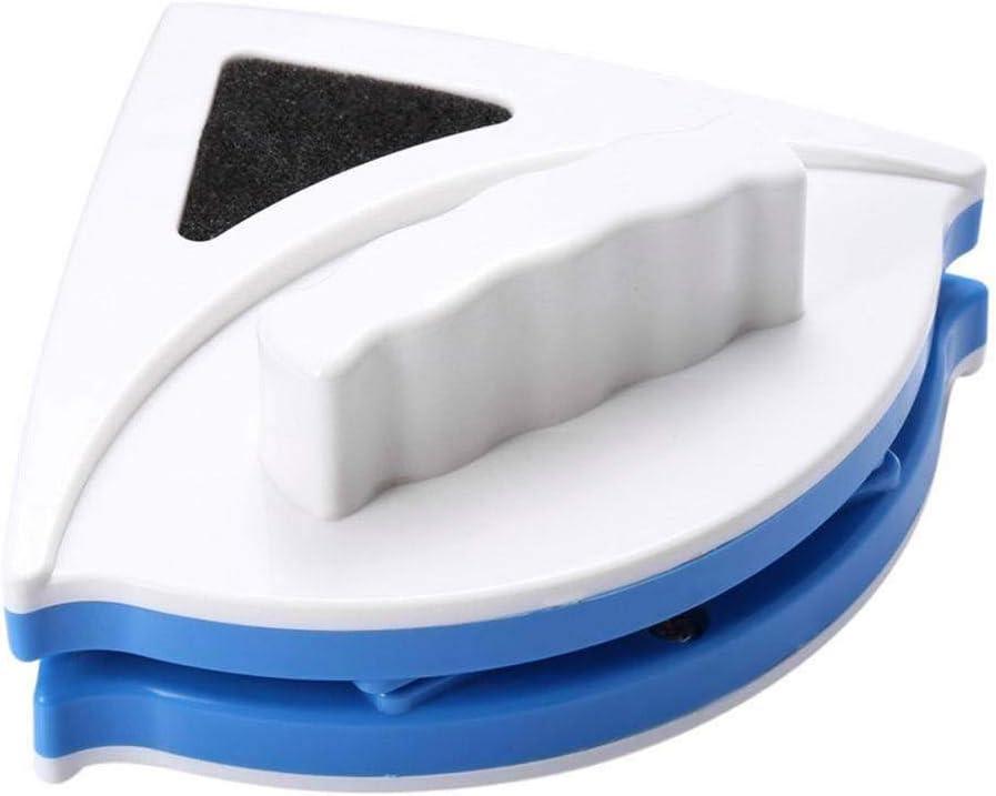 Home Limpiador magnético de doble cara para ventanas de cristal, herramienta de limpieza de superficie, raspador de cristal seguro para ventanas de alto alzado y vidriadas 8 mm azul: Amazon.es: Hogar