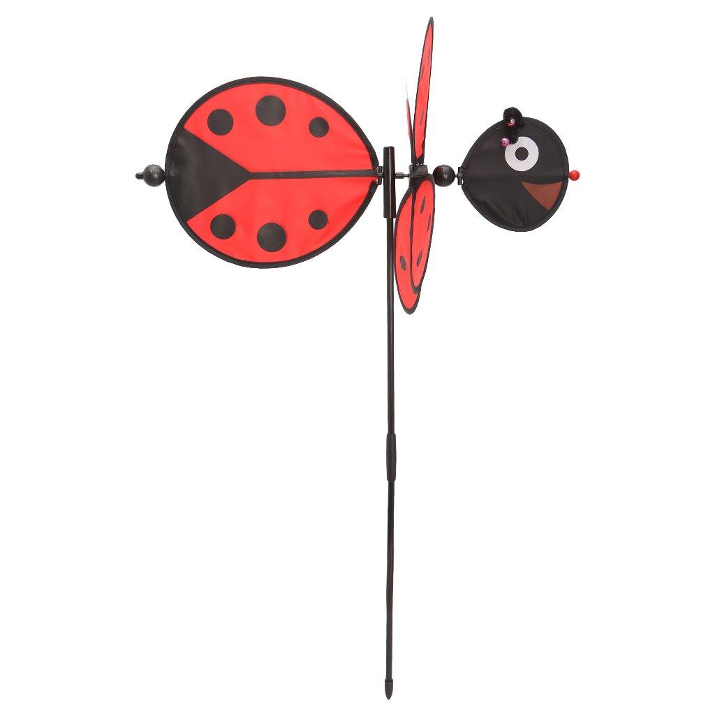 Cold Toy Ape Coccinella mulino a vento whirli Gig Girandola a Vento Giardino Casa Decorazione Giocattoli Per Bambini