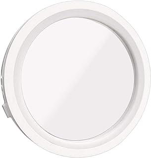 Tellaboull for Specchio per Trucco Portatile, Rotazione a 360 Gradi, ingrandimento 8X, Luce LED a 6 luci, Magnetica Staccabile, Specchio per Trucco vanità