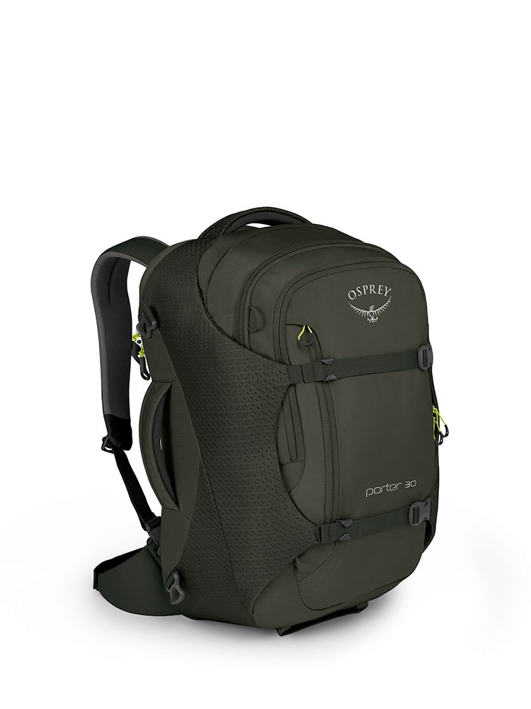 Osprey Packs Porter 30 Travel Backpack, Castle Grey, One Size by Osprey
