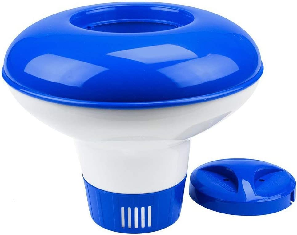 xinhuiqiong Plastic Chemical Tablet Floating Dispenser Bromine Tablet Holder Pool