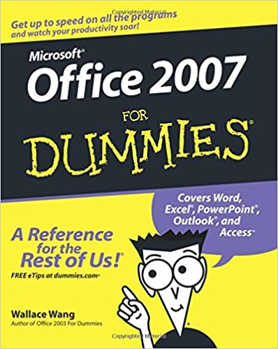 Microsoft office 2007 for dummies wallace wang 9780470009239 microsoft office 2007 for dummies 1st edition fandeluxe Choice Image