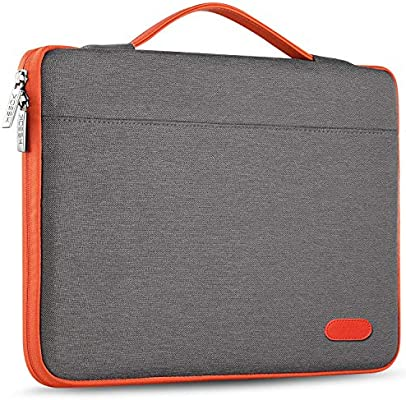 DOMISO 15.6 Pollici Custodia Borsa per Computer Portatile PC Protettiva Laptop Sleeve per 15.6 Lenovo Yoga Chromebook//ThinkPad T580//Asus ROG Zephyrus GX501//HP Pavilion 15 Envy 15//Acer Swift 3,Nero