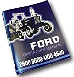 owners manual tractors - Ford 2600 3600 4100 4600 Tractor Operators Owners Manual Maintenance 1975 - 1981