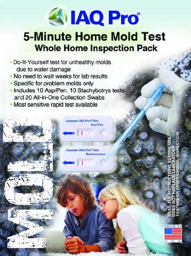 Iaq Meter - IAQ Pro 5-Minute Mold Test Whole Home Inspection Pack