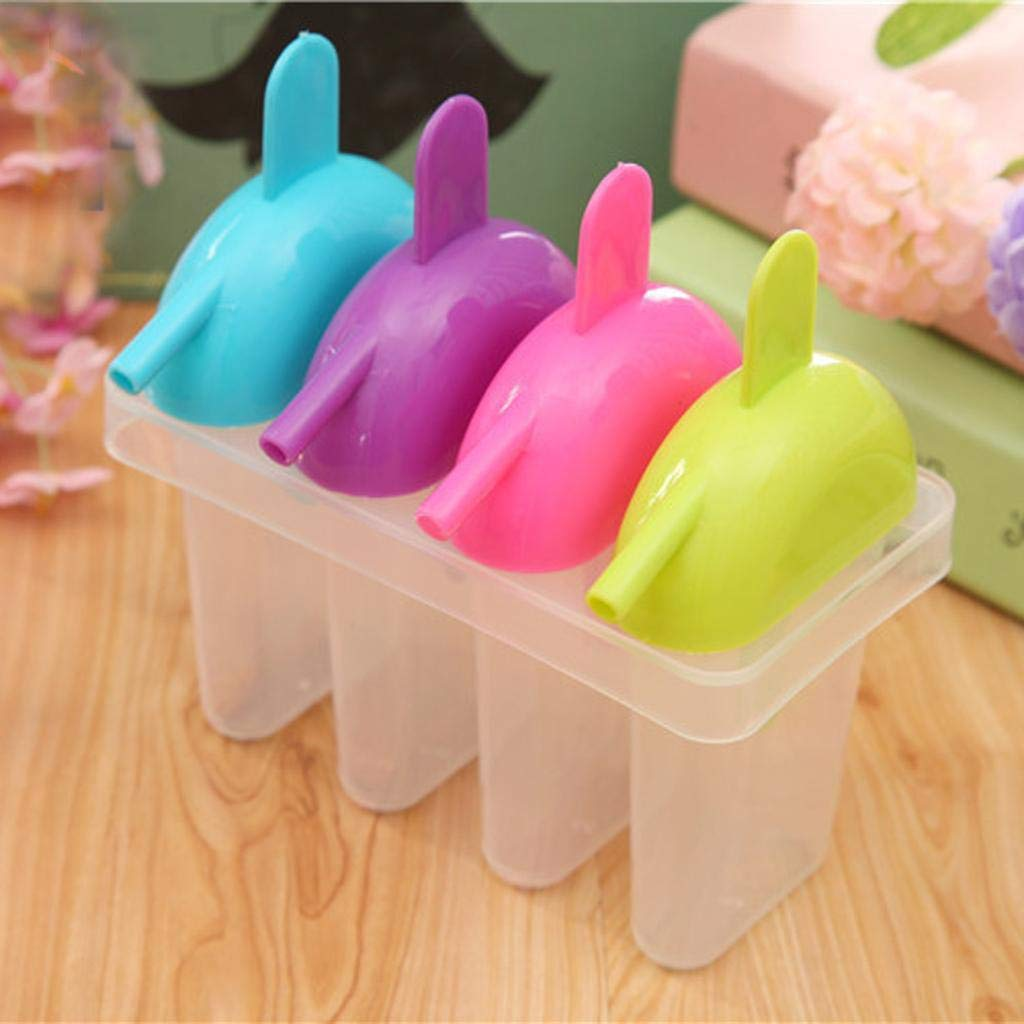 Silicone Freezer Ice Pop Maker Mold Popsicle Ice Cream Mould Suction Nozzle
