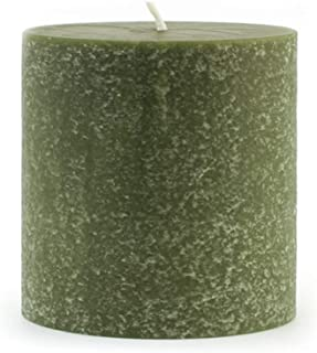 product image for Root Candles Unscented Timberline Pillar Candle , 3 x 3-Inches , Dark Olive
