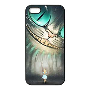 Custom Alice in Wonderland–Cheshire Cat Case for iPhone 5and iphone 5s