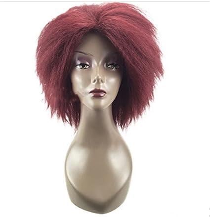 happymoodfull Dreadlocks peluca de pelo largo rizado afroamericana rollos Twist mechones sintético Pelucas Para Las Mujeres