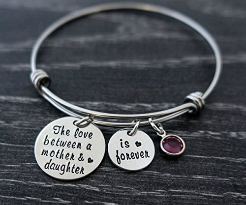 Mom Bracelet / The love between a mother and daughter is forever
