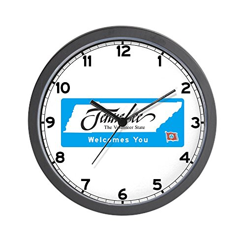 CafePress - Welcome to Tennessee - USA Wall Clock - Unique Decorative 10