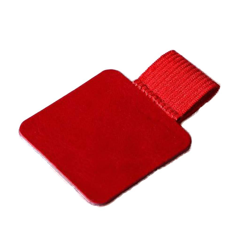Rosso Jinwo Portatile Penna Anello 10 Colori Giornale Penna Supporti Elastico Penna Anello Autoadesivo Portapenne Matita Anello Penna Anello Supporto per Notebook