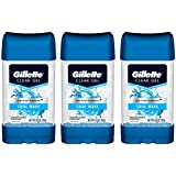 Gillette Endurance Antiperspirant/Deodorant, Cool Wave Clear Gel, 3.8 Ounce (Pack of 3)
