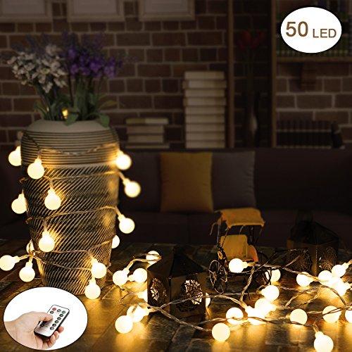 Mains Powered Garden String Lights