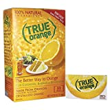 True Citrus - True Orange Crystallized Orange 32 x .8g Packets - 0.91 oz.