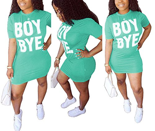 Printed Top Womens Basic Tunic Style T Blouse Casual Letters Short Antique Dress Green Shirts Sleeve zHYw5qx8