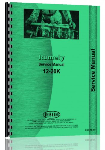 Rumely 12-20-K Oil Pull Tractor Service ()