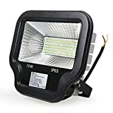 Cheap Anten LED Flood Light Lamp 70W 6000lm Waterproof IP65 6200K Daylight White Security Lights,Floodlight,Black Shell