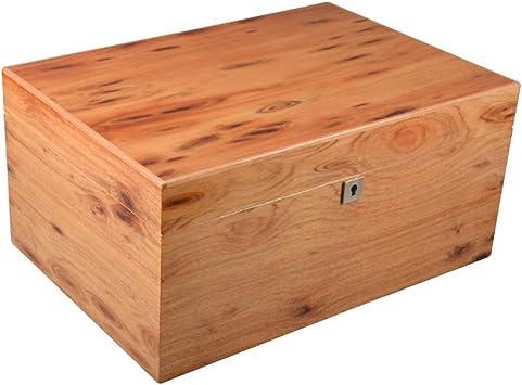 Humidores de cigarros, caja de humectación de madera de cedro suave con gran capacidad de 80 palos cigarro humidor de cigarrillos: Amazon.es: Salud y cuidado personal