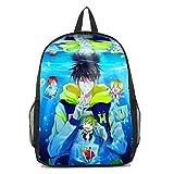 Dreamcosplay Anime Free! Iwatobi Swim Club Haruka Logo Backpack Student Bag