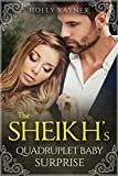 The Sheikh's Quadruplet Baby Surprise - A Multiple Baby Romance (More Than He Bargained For Book 3)