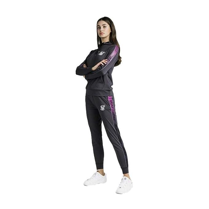Sik Silk Pantalon de Chandal Runner Track Gris Hierro: Amazon.es ...