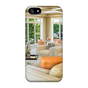 Personality customization Beautiful Home Interior With Water View New Style High Quality Iphone 5/5s Case Skin By CUY Cases