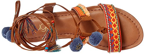 Women's Sugar Wedge Sandal Dreamweaver Multi Cognac Sgr U8wd0q8
