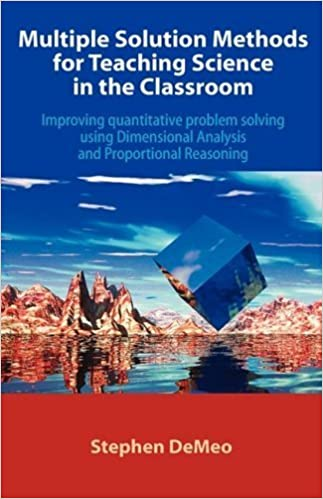 Book Multiple Solution Methods for Teaching Science in the Classroom by DeMeo, Stephen. (Universal Publishers,2008)