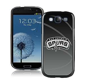New DIY Designed Skin Case For Samsung Galaxy S3 I9300 With San Antonio Spurs 11 Black Phone Case