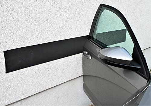 Türkantenschutz Auto Selbstklebend Doppelpack 200x10 Cm Inkl 4 Haft Klebestreifen Kantenschutz Für Autotüren Garagenprotector Türschutz Auto