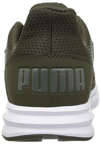 Puma Mens Enzo Street Sneaker Skogsnatt Castor Grå
