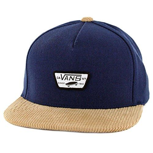410f364c Vans OTW Mini Full Patch Snapback Hat (Dress Blues/Khaki) Men's Skate Cap