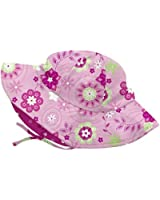 I Play Baby Girls' Floral Floppy Hat Infants ( 6-18 Months )
