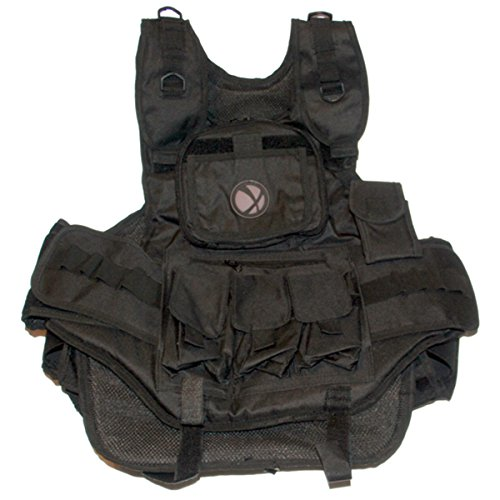 GXG Army Swat Paintball Airsoft Tactical Vest Black