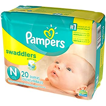 Amazon.com: Pampers Swaddlers (Newborn) 240 count: Health ...