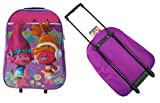 Cheap Trolley Bag,Trolls & PJ Masks & Ladybugs Arch Trolley Bag,Official Licensed (Trolls | DreamWorks)