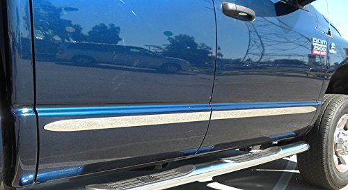 Made In USA! Works With 99-06 Chevy Silverado 3 Door Extended Cab Body Side Molding Trim 1.5