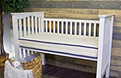 The My Green Crib Mattress allows your baby to sleep as close to nature as possible at an affordable price. Our crib mattress is handcrafted with the highest quality materials including an GOTS certified organic cotton and natural, Oeko-Tex c...