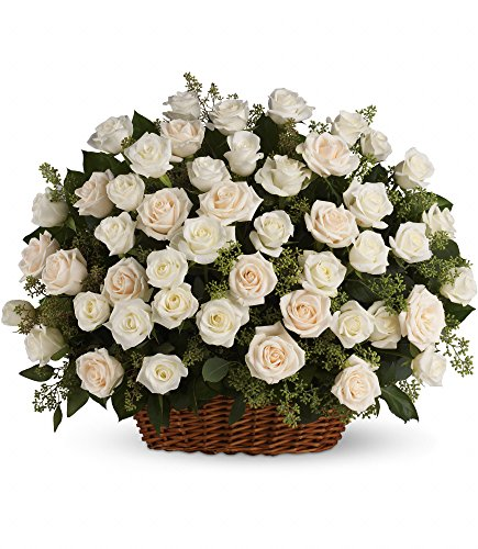 Chicago Flower Co. - Bountiful Rose Basket - Fresh and Hand Delivered