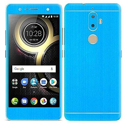 Gadgets Wrap Skin for Lenovo K8 Plus Light Blue: Amazon in