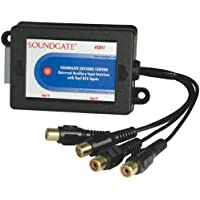 SOUNDGATE SDSGM2 Auxiliary Interface for 2003-2005 GM With Factory XM Satellite Radio
