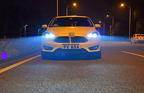 GOWE Car Styling for Ford Focus Headlights 2015-2018 Focus3 LED Headlight DRL Bi Xenon Lens High Low Beam Parking Fog Lamp Color Temperature:4300k;Wattage:55w 2