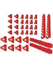 Gereedschapswand houder - 36-delig Gereedschapshouder voor gatenwand - Haken Set Workshop Gereedschapsgatwand Lagersysteem