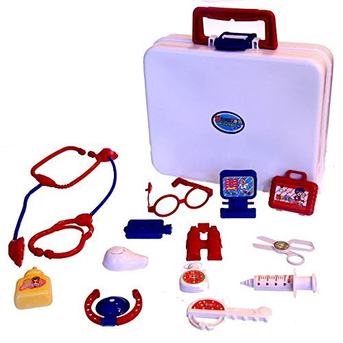 Dazzling Toys Dolls Medical Kit and Set - 15 Piece