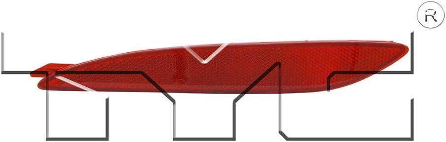 NEW BUMPER REFLECTOR REAR RIGHT FITS 2011-2013 HYUNDAI ELANTRA 924063X000