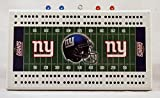New York Giants NFL Licensed 2 Track Cribbage Board